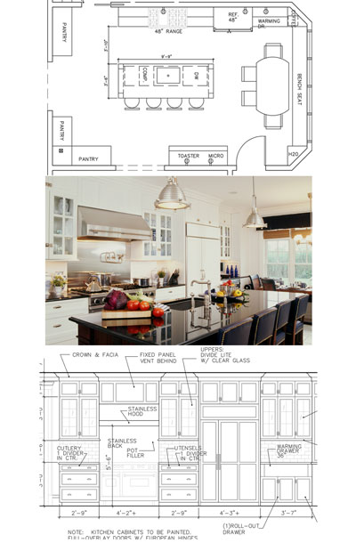 Kitchen CAD Drawings